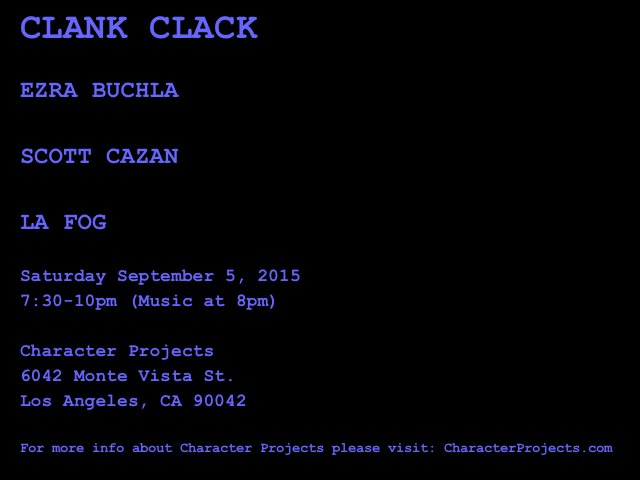 Clank Clack 2 Flyer