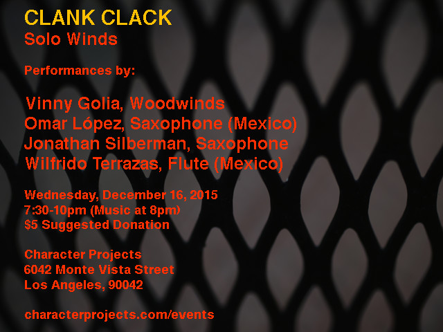Clank Clack 4 Flyer